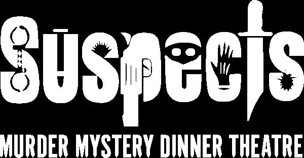 Suspect's Murder Mystery Dinner Theatre Logo