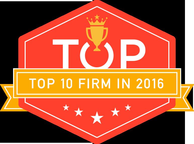 Top 10 Web Design Firms Award