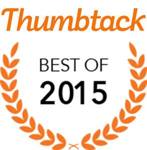 Thumbtack Best of 2015 Award