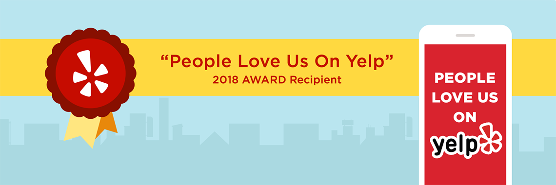 2018 People Love Us on Yelp Award announcement recognizing Capitol Tech Solutions
