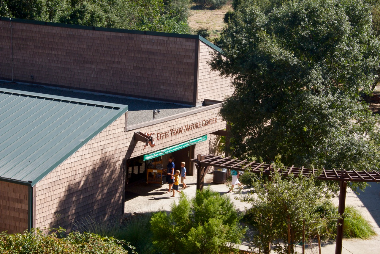 Effie Yeaw Nature Center Building from Above