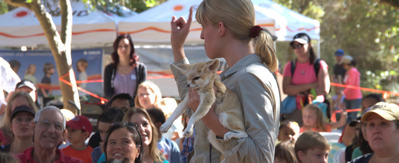 NatureFest Features Live Animal Shows
