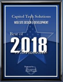 2018 Best of Sacramento Website Design & Development