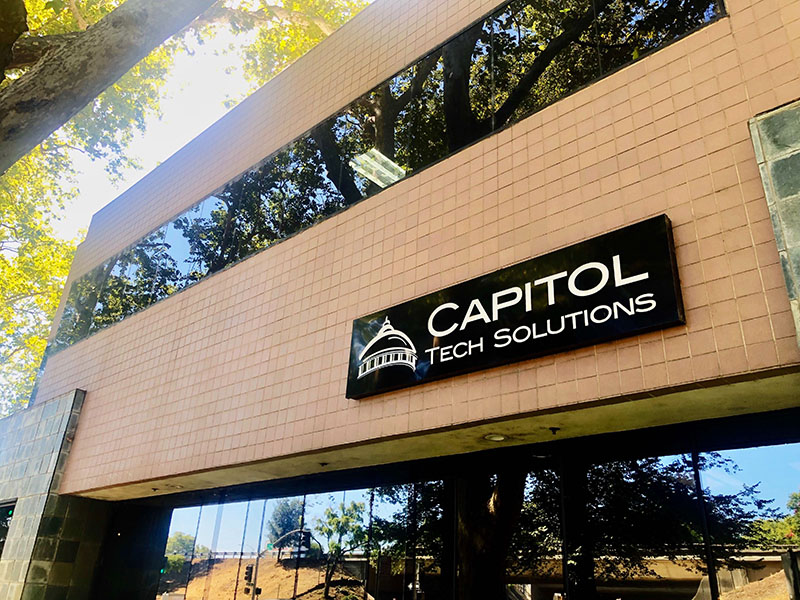 Photo of Capitol Tech Solutions' building in Midtown Sacramento