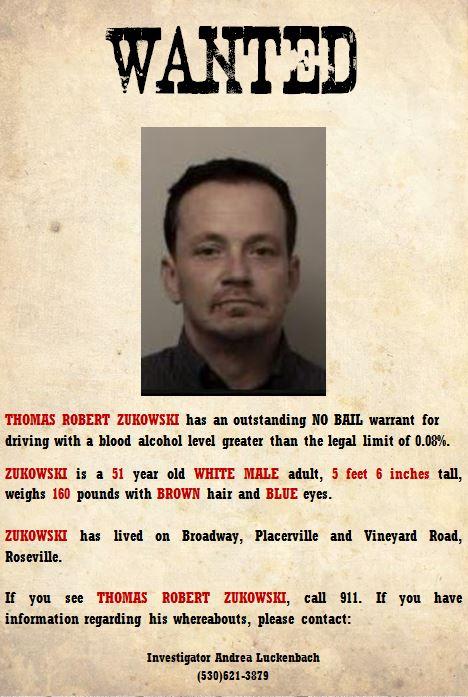 Most Wanted Captured | El Dorado County District Attorney