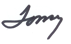 Tommy Norment Signature